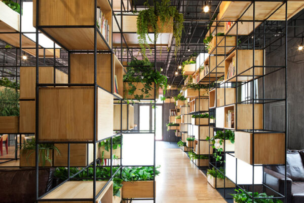 retaildesign branding planten