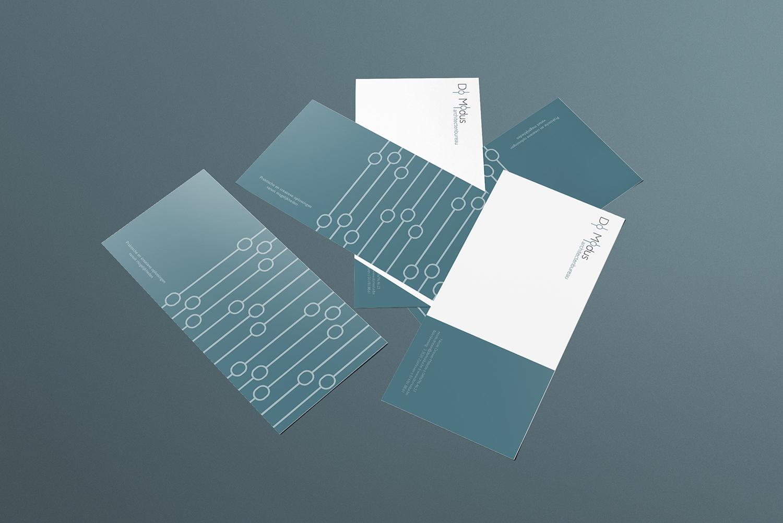 ontwerp groetenkaart architectenbureau