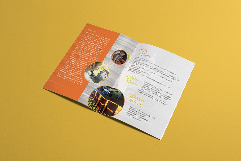 ontwerp brochure GymTonic