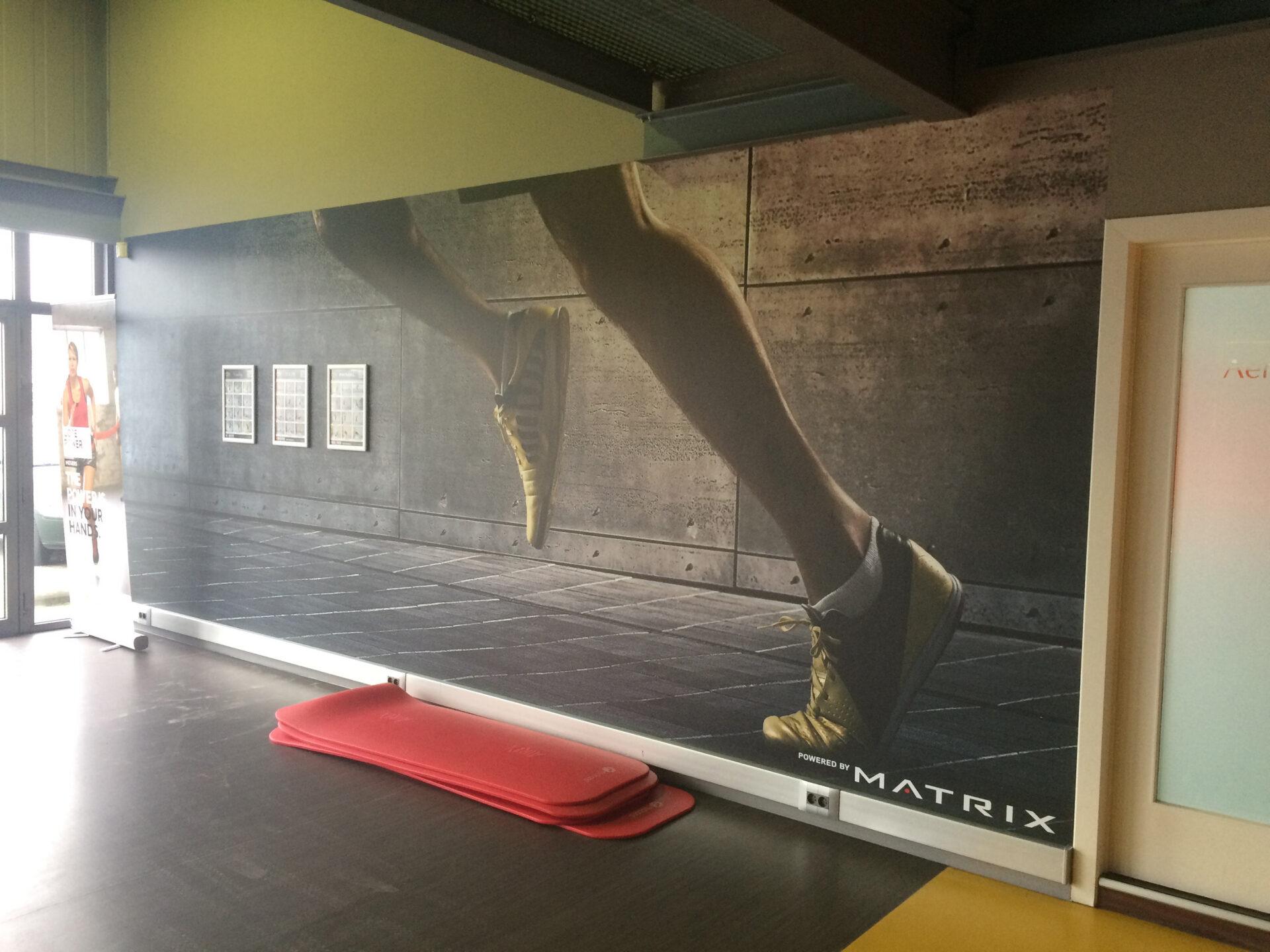 GymTOnic fotografie behang