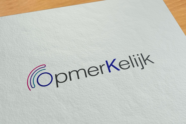 ontwerp logo opmerkelijk