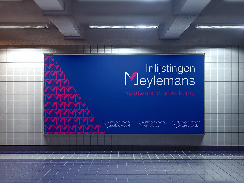 ontwerp reclamepaneel Meylemans