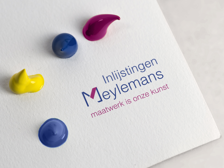 logo ontwerp Inlijstingen Meylemans