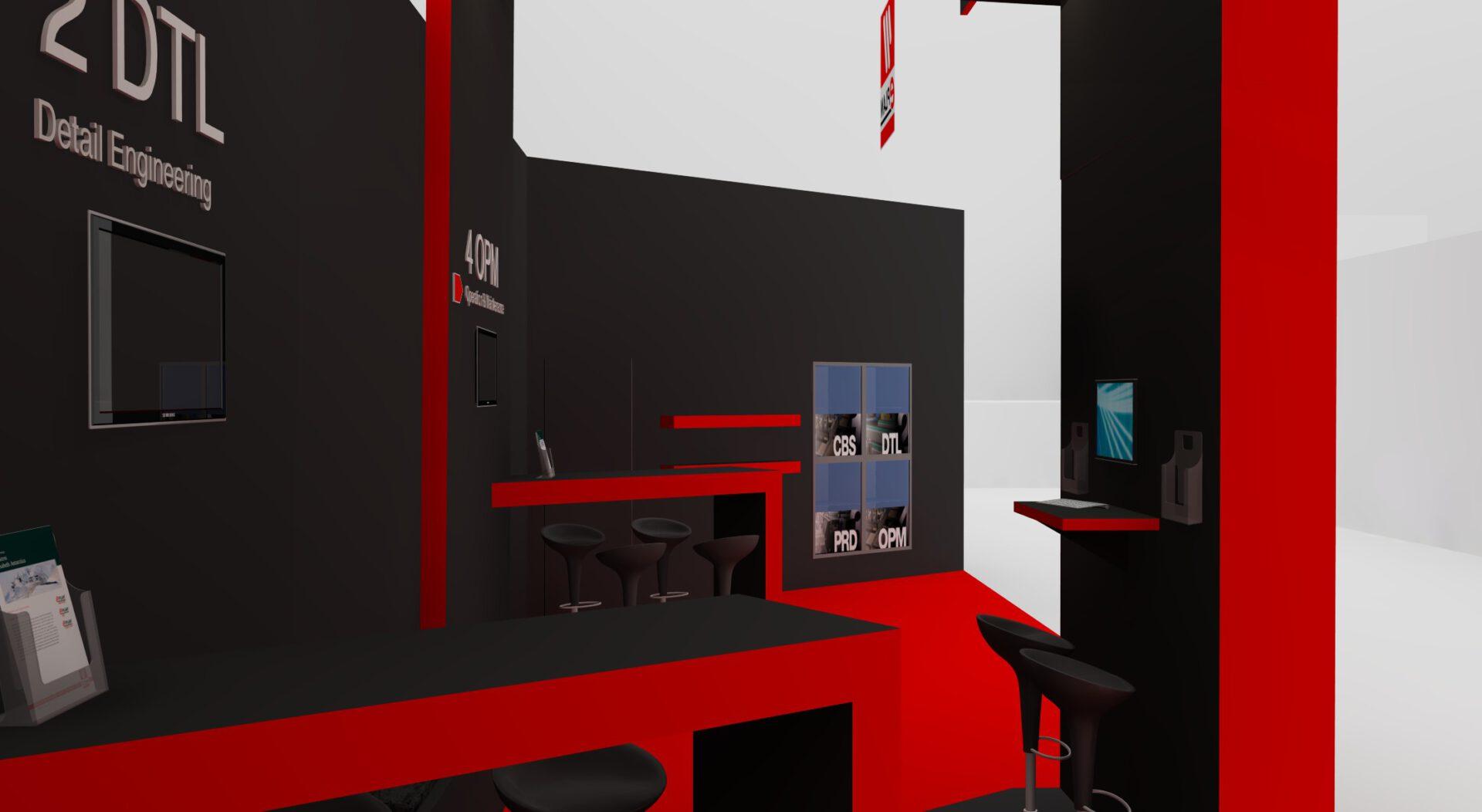 exhibition design E-plan