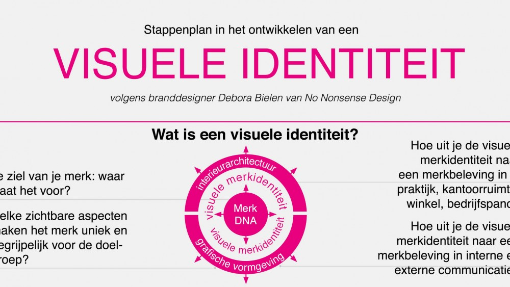 infographic visuele identiteit
