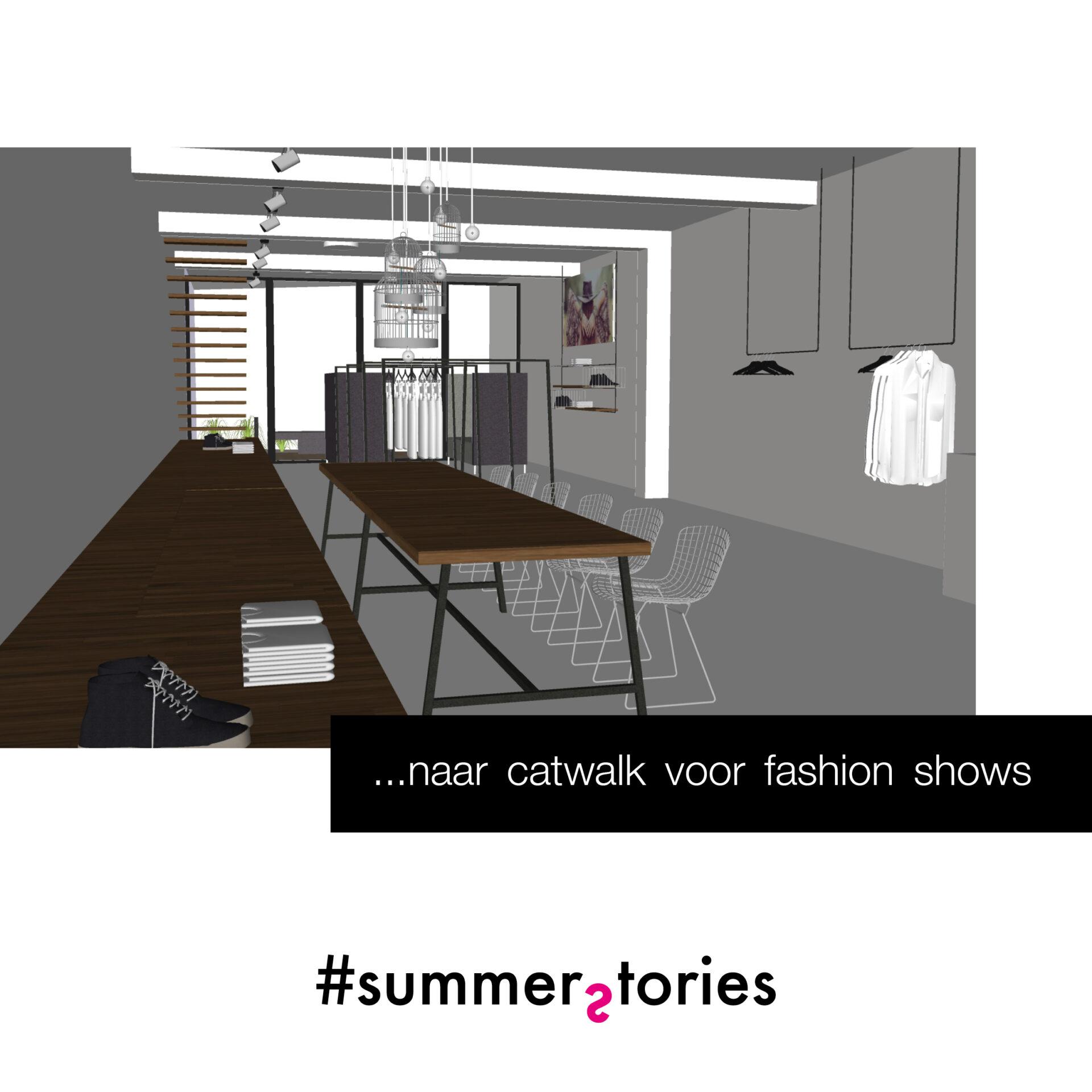 interieurarchitect kledingwinkel