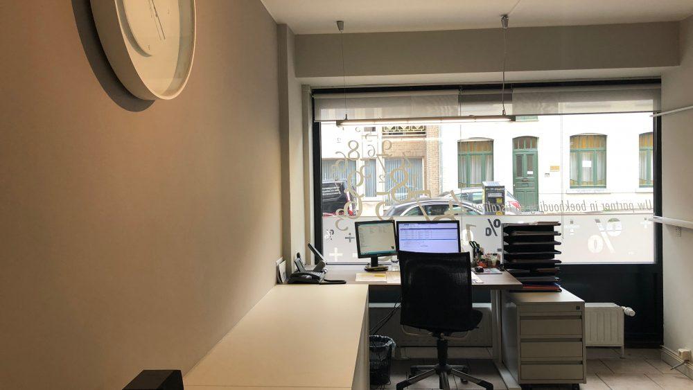 Lage bergruimte kantoor