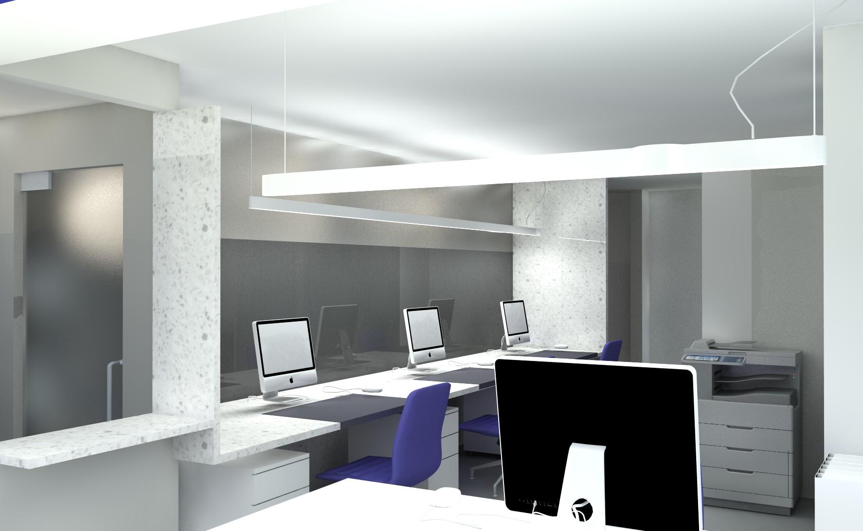 Ontwerp kantoorinrichting Genk