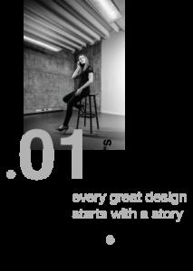 Stap 1 van een project in grafische vormgeving
