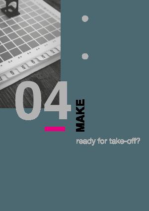 Stap 4 van een project in grafische vormgeving