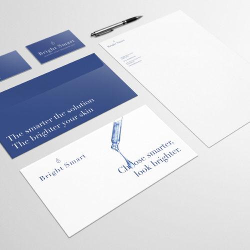 logo en huisstijl voor webshop Bright Smart