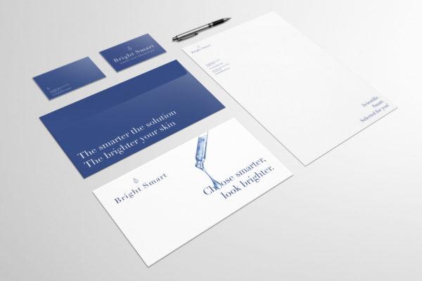 logo en huisstijl voor Bright Smart
