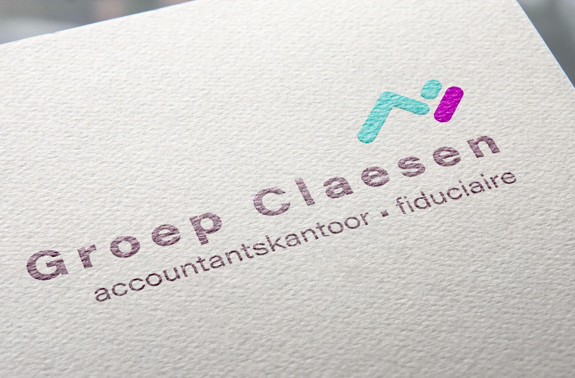 logo en huisstijl accountantskantoor Claesen