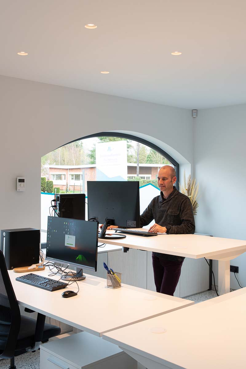 Inrichting boekhoudkantoor Els Hermans