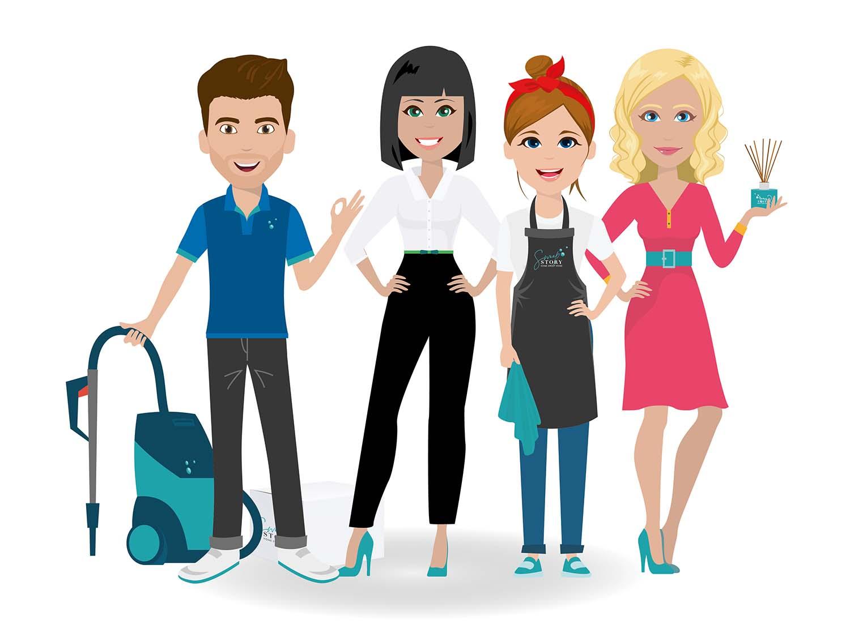 ontwerp voor avatars