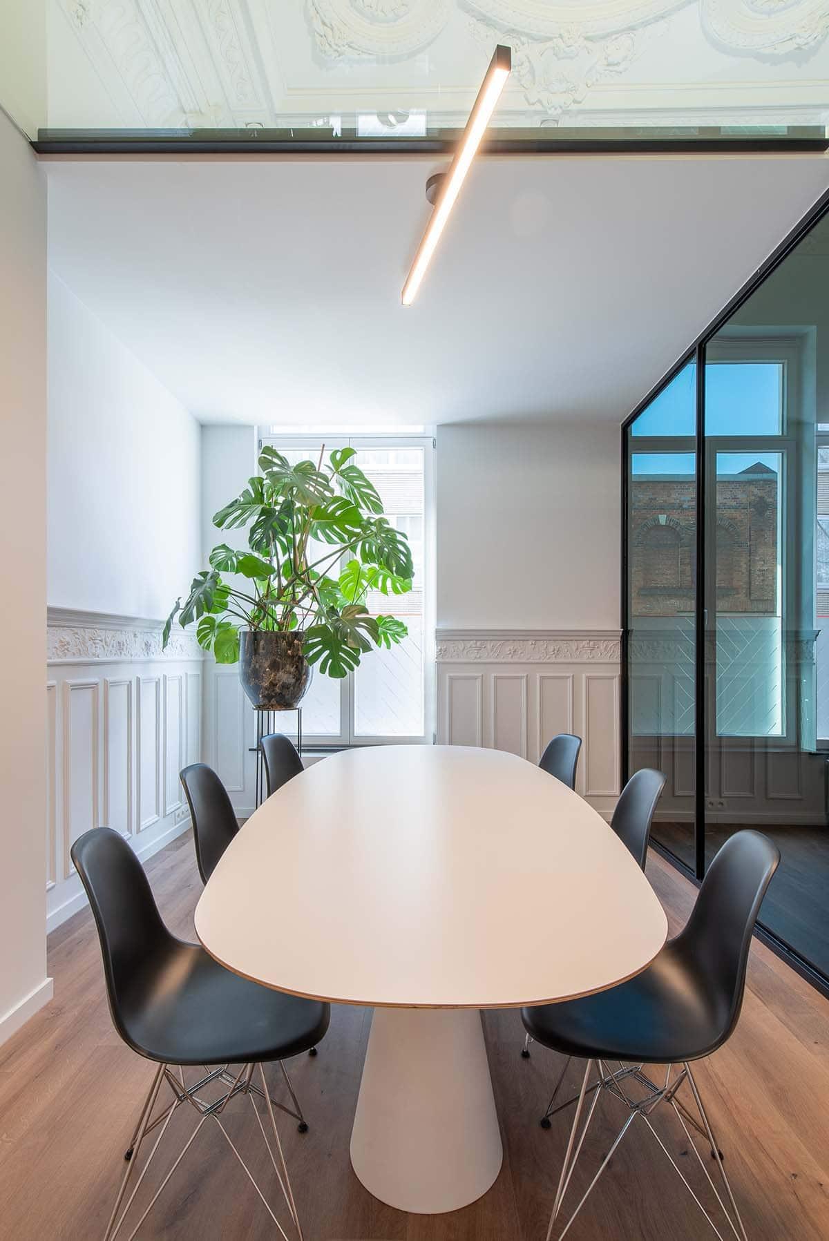 Interieurarchitect tweedraads advocaten kantoor