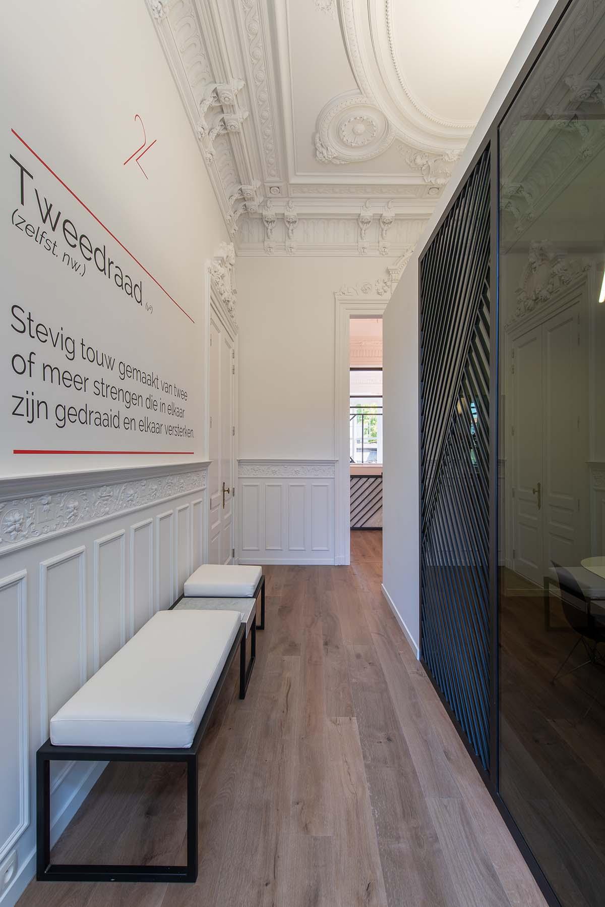 ontwerp ontvangst interieurarchitect
