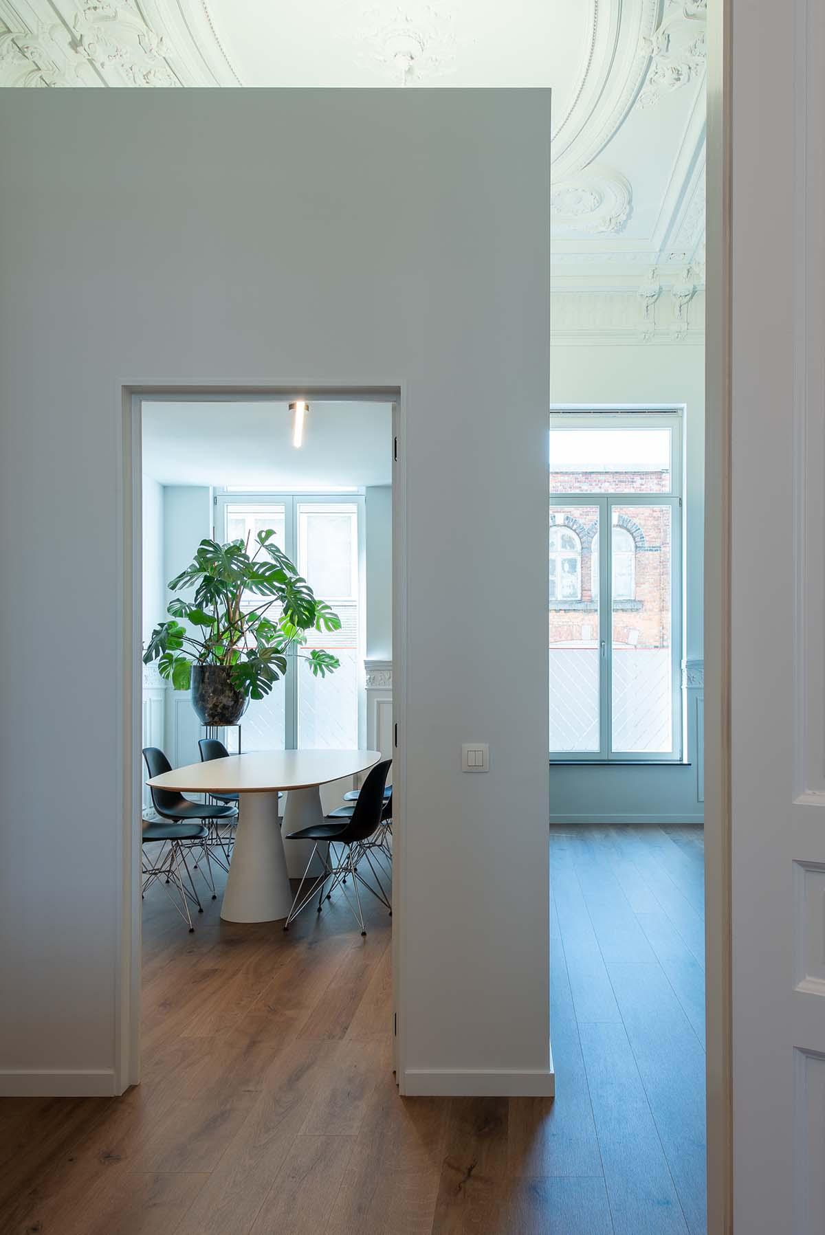 vergaderruimte ontwerp interieurarchitect limburg